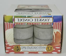 Yankee Candle WHITE CHOCOLATE APPLE Box of 12 Scented Tealig