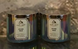WHITE BARN WHITE SURF 3 WICK SCENTED CANDLES 14.5 oz.